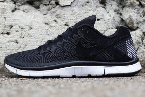 official photos 0c781 26d88 ... Nike Free Trainer 3.0 – Black – Metallic Silver ...