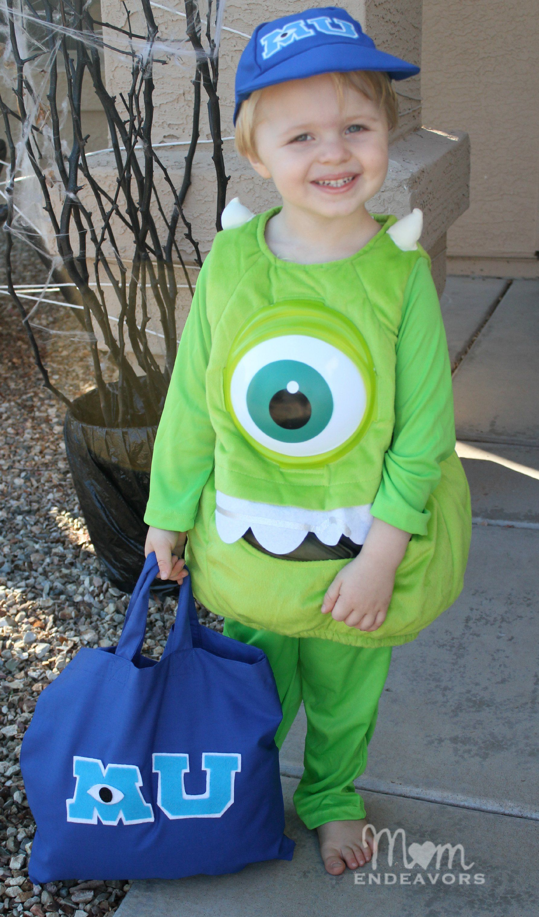 monsters university halloween costume diy treat bag - Halloween Costume Monster