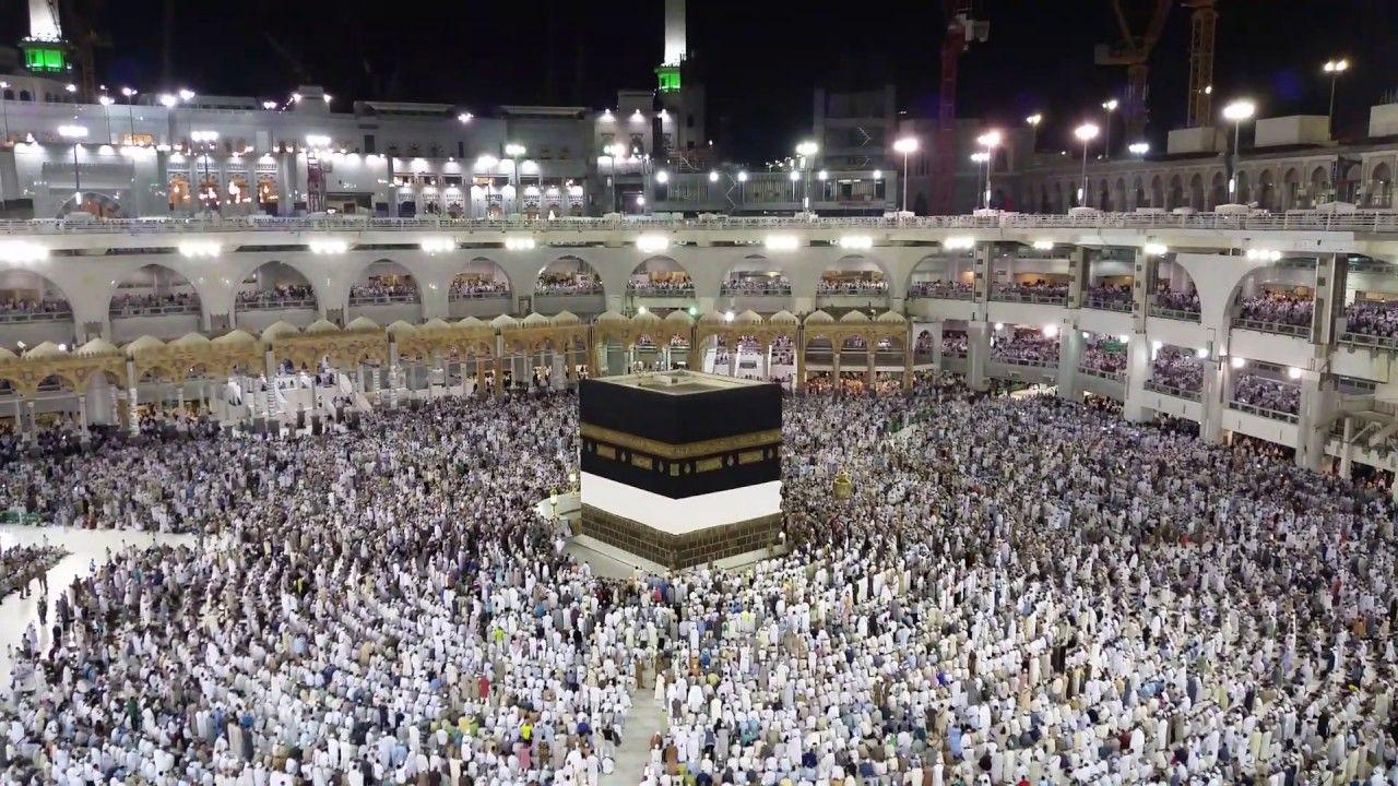 مكة المكرمة أذان الفجر بالحرم المكى اللهم ارزقنا زيارنة قريبا يا الله Mecca Islam Mecca Wallpaper Hajj Video