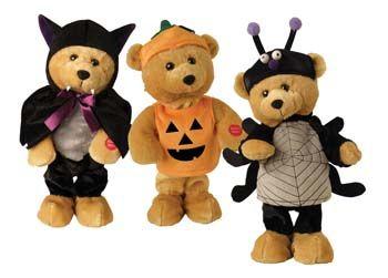 Very Talented Teddy Bear - Halloween