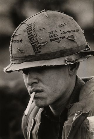 This Marine For Example Was Always Smiling It Was The Kind Of Smile That Verged On The High Giggles But His Eyes Sho Vietnam War Vietnam Vietnam War Photos