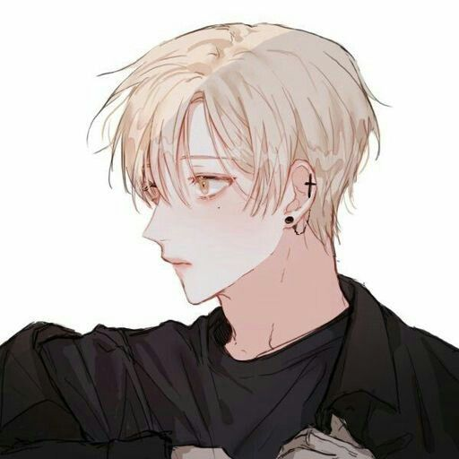 Anime Boy Blonde Hair Hazel Eyes Cute Korean Anime Anime