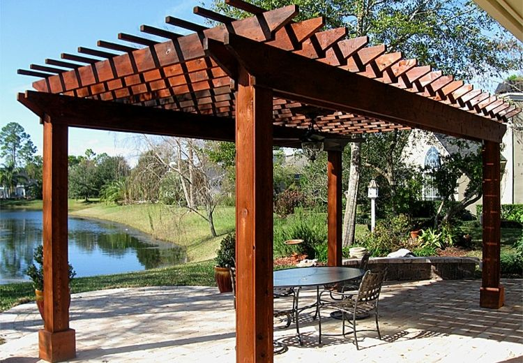 Pergolas de madera, 50 creaciones perfectas para tu patio Pergolas