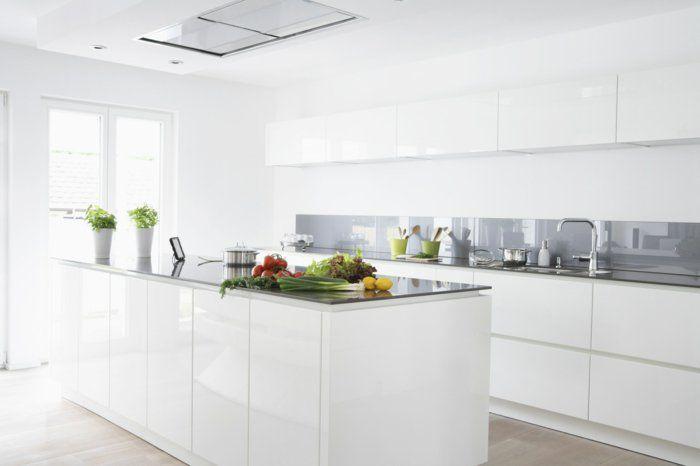 Moderne Küchen machen die Küchenarbeit zu einem einmaligen Erlebnis - weiße küche arbeitsplatte