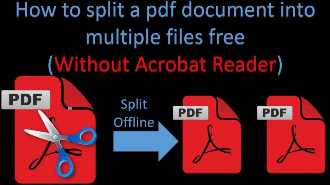 How To Split Pdf Pages In Half How To Split Splits Pdf