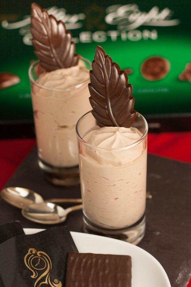After Eight-shots med flødeis og karamel | desserts