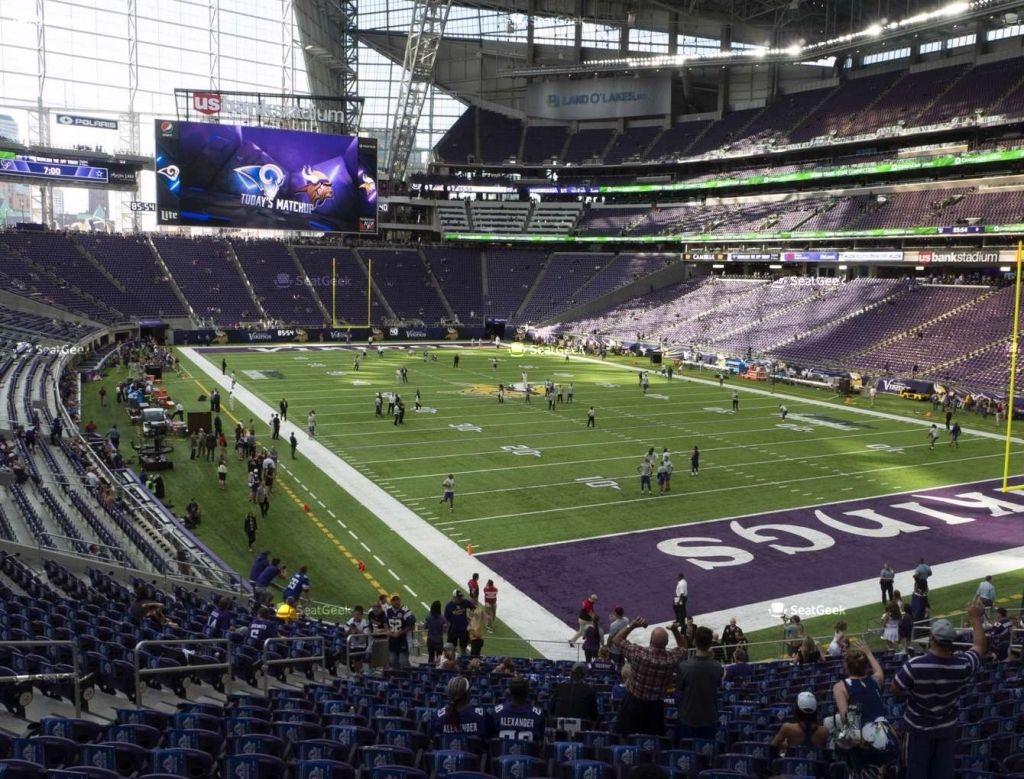 Us Bank Stadium Seating Chart Minneapolis Mn Stadium Super Bowl