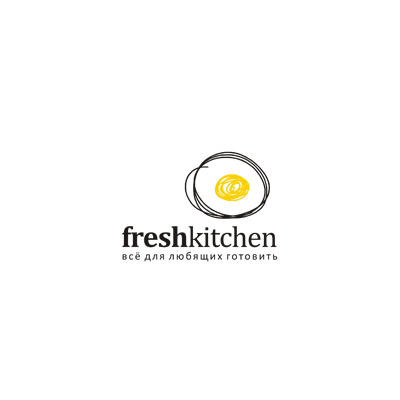 Fresh Kitchen Logo  Logo Design Gallery Inspiration  Logomix Endearing Kitchen Design Logo Design Inspiration
