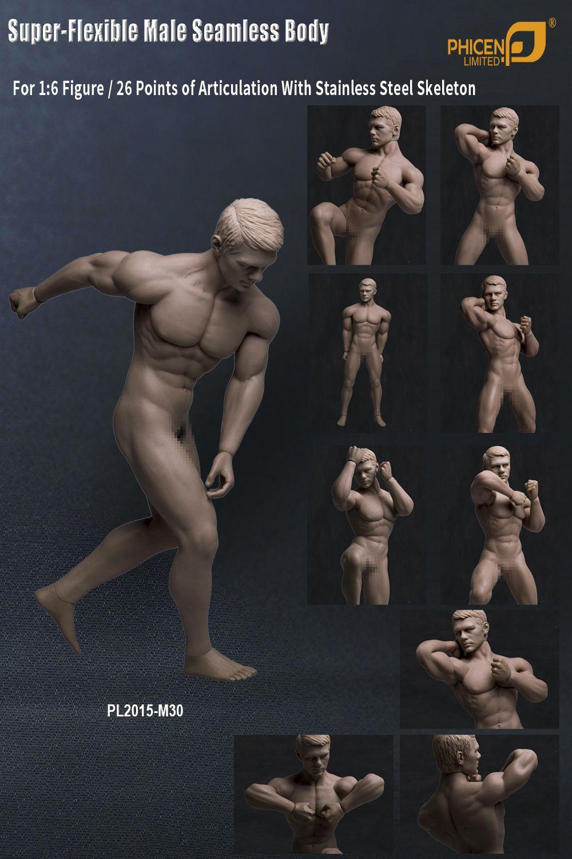 ninja muskel nude