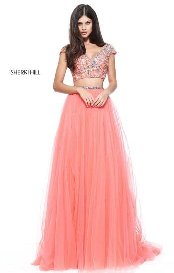 Prom Dresses 2017 Sherri Hill Prom Pinterest Prom Coral