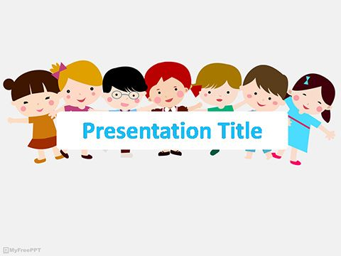 free powerpoint template for children free kids powerpoint templates