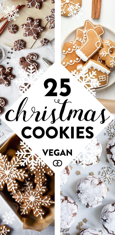 25 Irresistible Vegan Christmas Cookies You Need to try  25 Irresistible Vegan Christmas Cookies You Need to try