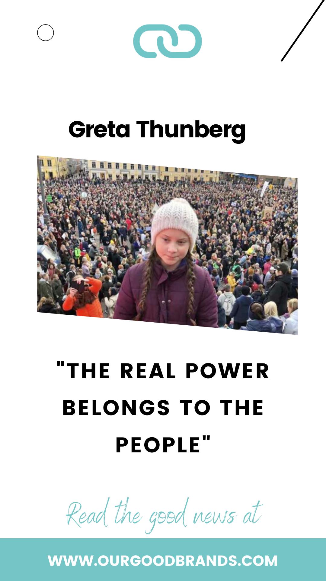 Greta Thunberg Leader Of A Worldwide Revolution For Climate Change School Strike Climate Change Great Sentences