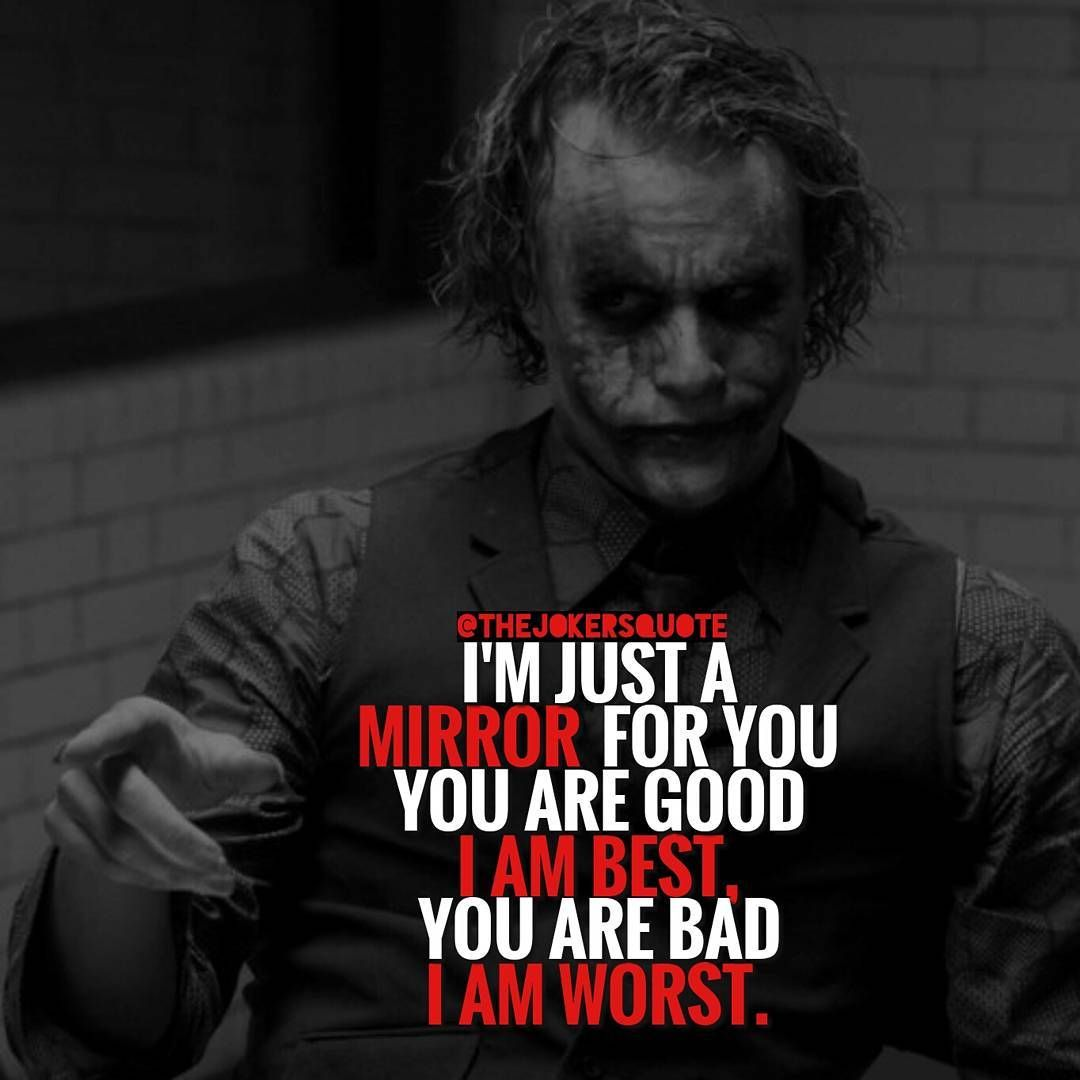 Joker Quotes 1188 Likes 2 Comments  Joker Quotes Thejokersquote On