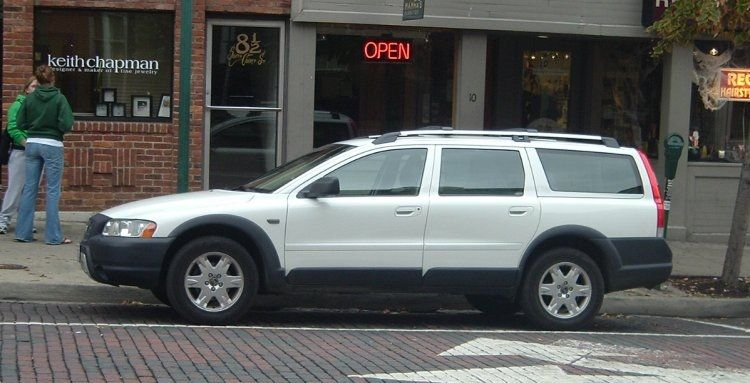 White Volvo Cross Country Wagon Replaced The Lemony Xc90 An Ok Car At Least It Was Reliable Volvo Wagon Cross Country