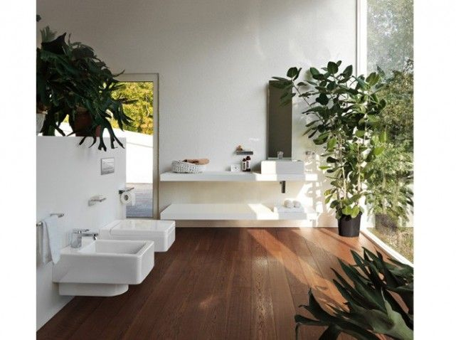 Stunning Salle De Bain Parquet Fonce Images - Amazing House Design ...
