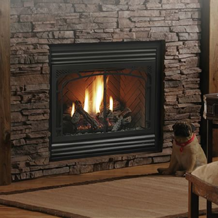 Kingsman Hb3624 Zero Clearance Direct Vent Fireplace Indoor Fireplaces