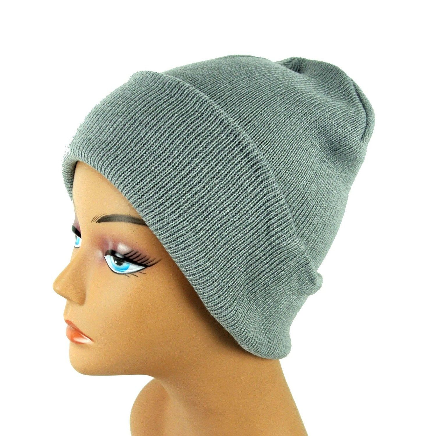 Knit Cuff Beanies Assorted Colors