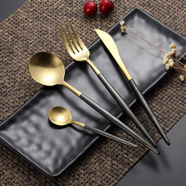 32 Stylish Dining Room Ideas To Impress Your Dinner Guests: Midas - Dinner Party Cutlery