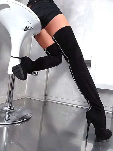 7d159407710758 Made in italy extreme high heels overknee plateau stiefel boots ...