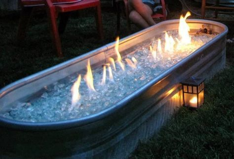 15 Cool DIY Galvanized Tubs Ideas For Your Backyard | Fire ...