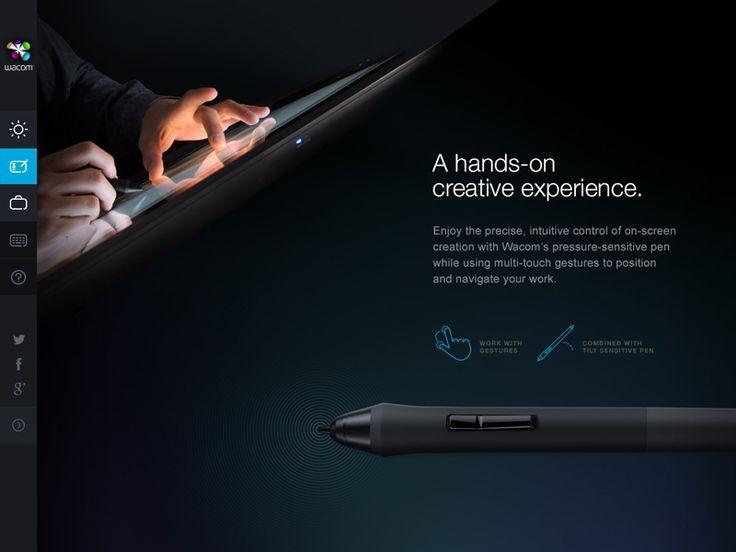 Wacom Case Study by Tobias van Schneider #web #design #marketing #inspiration