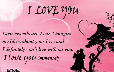 romantic love messages for her | Romantic love messages