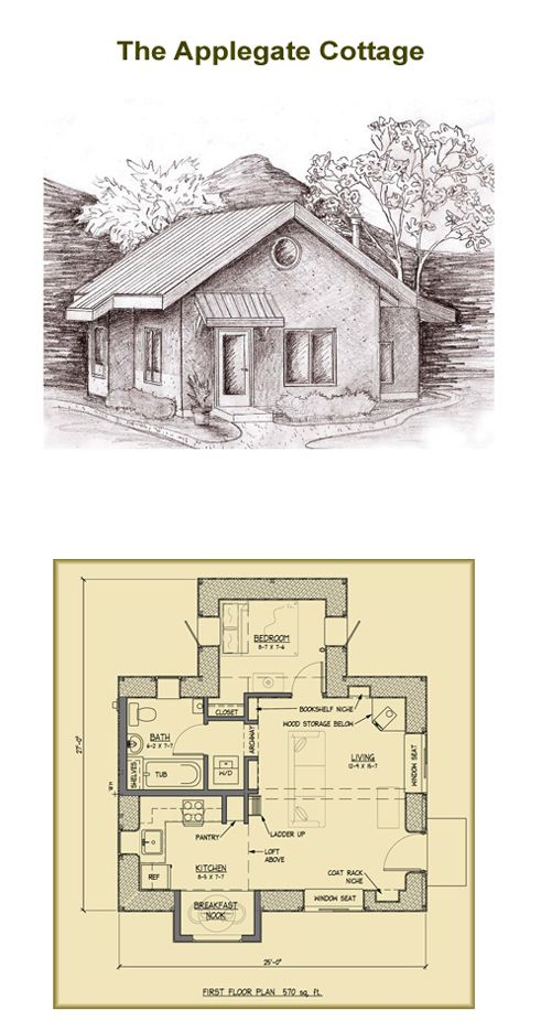 Wondrous Pin By Marie Angell On Tiny Houses Cottage Plan Small Home Interior And Landscaping Synyenasavecom
