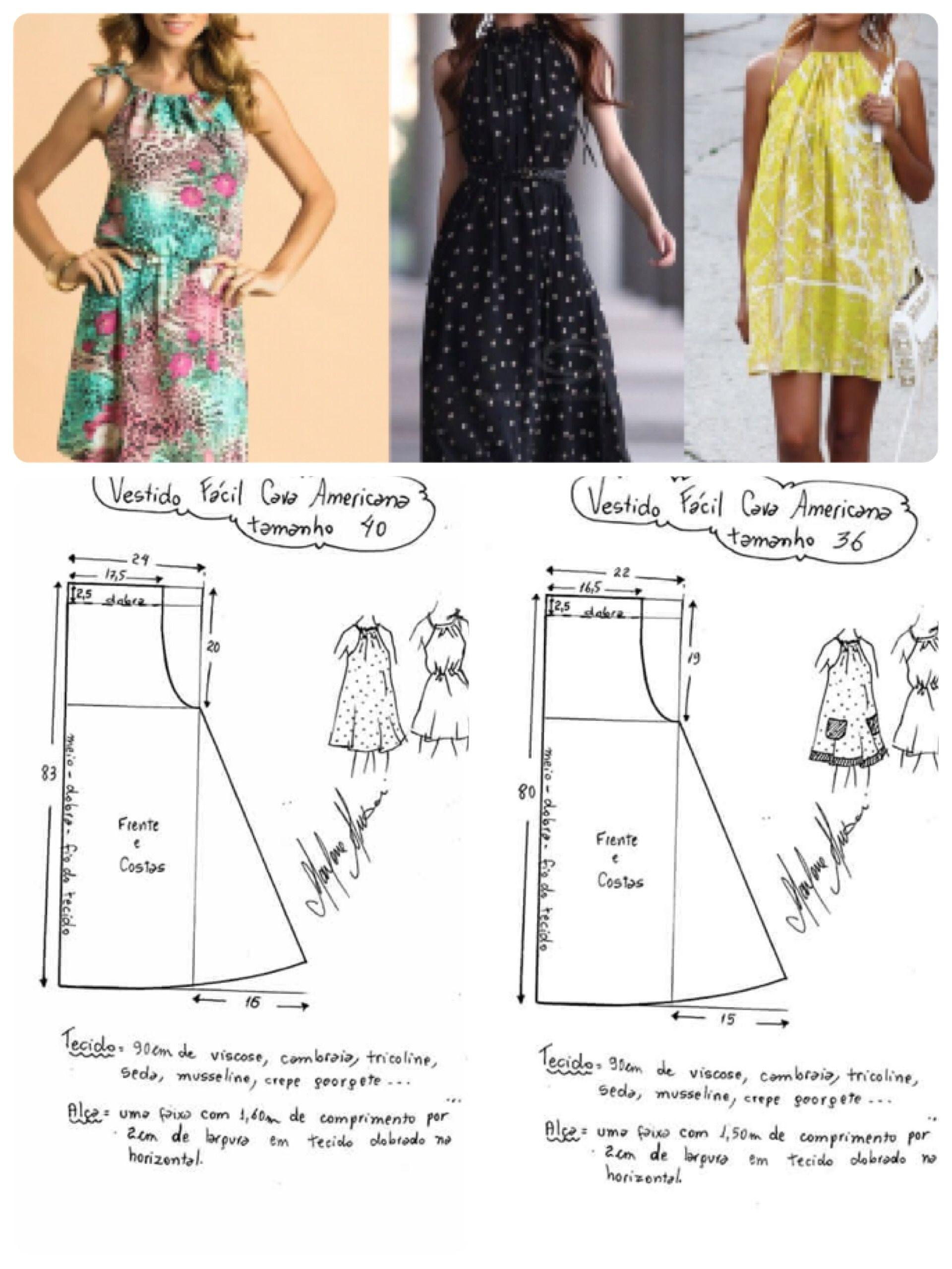 Vestidos cortos | Ropa patrones | Pinterest