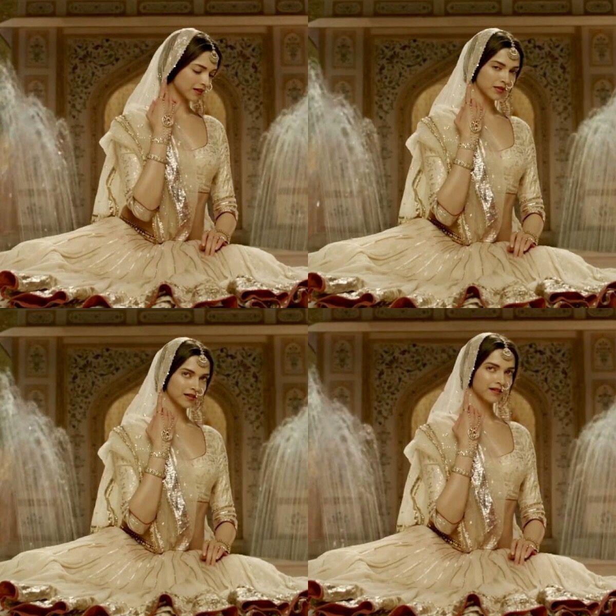 Rajput wedding dress  Deepika Padukone in Bajirao Mastani  Deepika Padukone  Pinterest