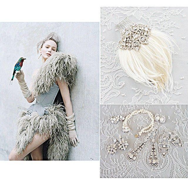 We are totally smitten with our gorgeous art deco inspired  jewelry #portobellojewel #timwalker  @jennishrader  #midcentury #fashionblogger #weddingblogger #NYC #Nashville #austin #LA #London #Paris #Australia #Stockholm #berlin #liketkit