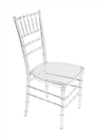 Clear Chiavari Chair Pad Included 5 75 Ea Chair Chiavari Chairs Dinner Chair