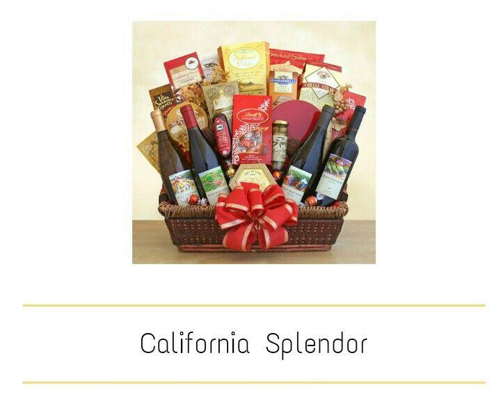 California splendor Wine gift basket