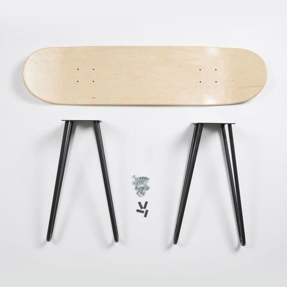 Skatebench Do It Yourself Kit Etsy In 2020 Skateboard Furniture Skateboard Room Cool Furniture