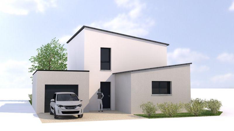 Plan maison contemporaine rennes ventana blog - Maison bretonne moderne ...