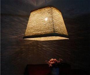 Pastoral Rattan Hängende Lampe Kreative Wohnbereich Esszimmer Kronleuchter  Tatami Schlafzimmer Nachttischlampen Gang Balkon