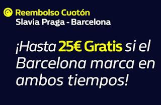 William Hill Reembolso Cuotón Slavia Praga Vs Barcelona 23 10 2019 El Forero Jrvm Y Todos Los Bonos De Deportes Praga William Hill Barcelona