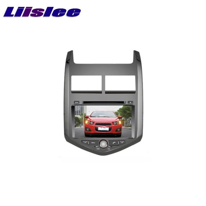 For Chevrolet Aveo 2011 2017 Liislee Car Multimedia Tv Dvd Gps Audio Hi Fi Radio Original Style Navigation Car Electronics Chevrolet Aveo Chevy Sonic