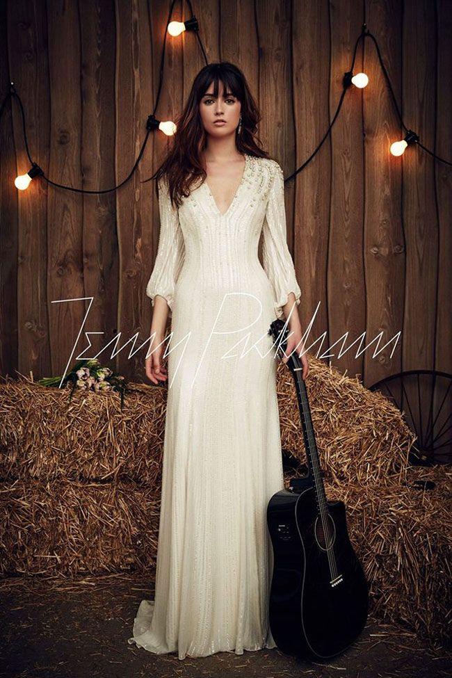 Matrimonio Stile Gipsy : Abito da sposa stile gipsy jenny packham abiti da sposa en