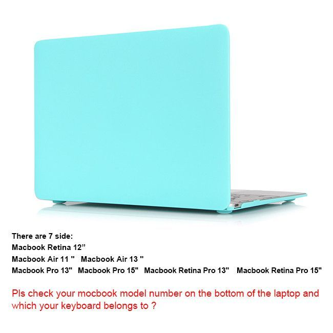 """New Matte Laptop Crystal Case Cover For Macbook Air 13"""" A1466/ Air 11"""" A1370 Pro 13"""" A1278/ Pro 15"""" A1286 Retina 13"""" 15"""" Case"""
