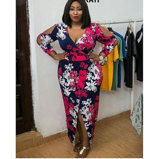 4eba11b354 Most beautiful ankara styles for plus size ladies in 2018