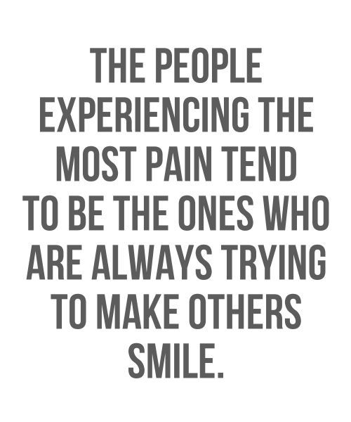 Trying To Make Others Smile - Life Quote