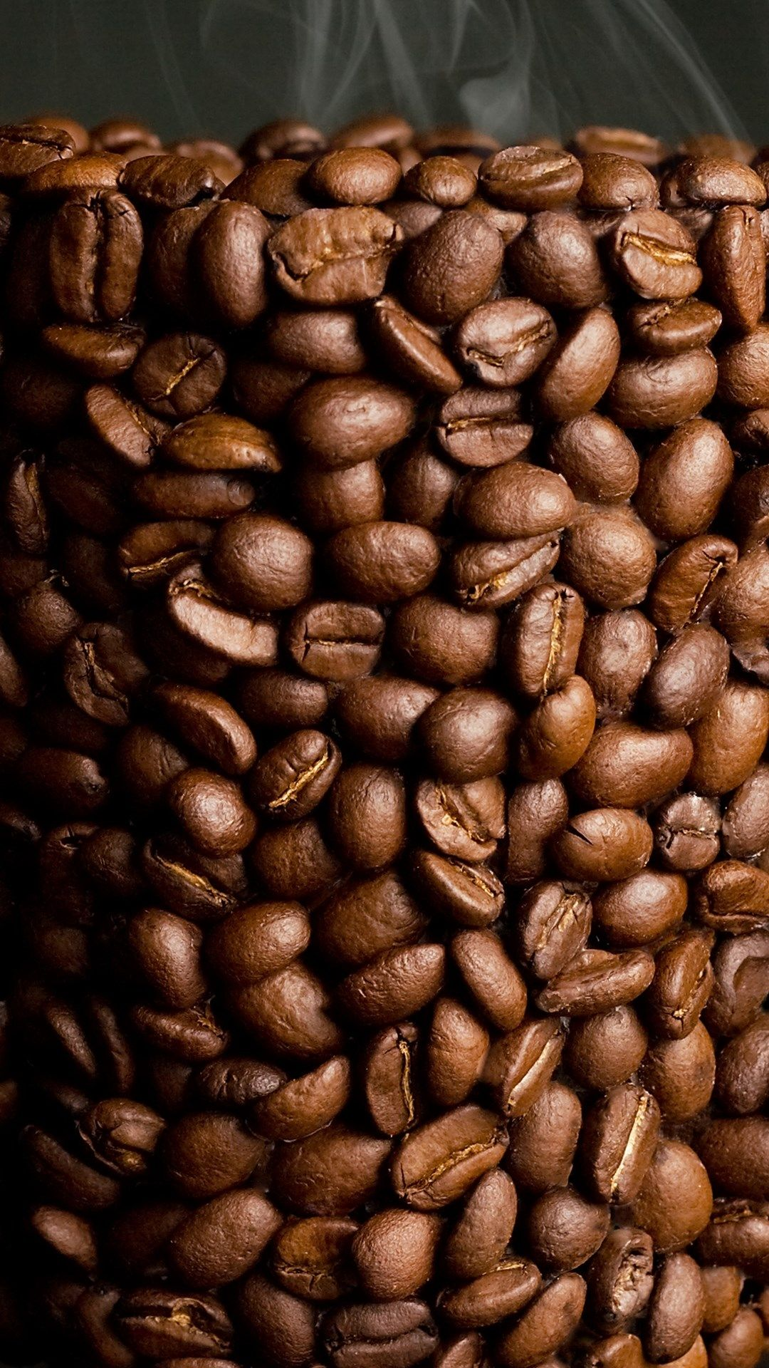 TAP AND GET THE FREE APP! Drink Hot Coffee Beans Brown