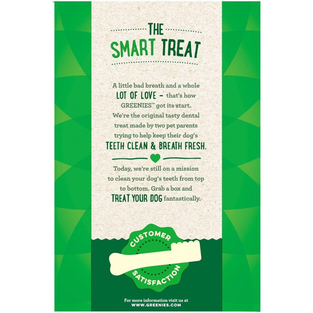 21+ Greenies Grain Free Teenie Dog Dental Treats Value Pack 130 Count