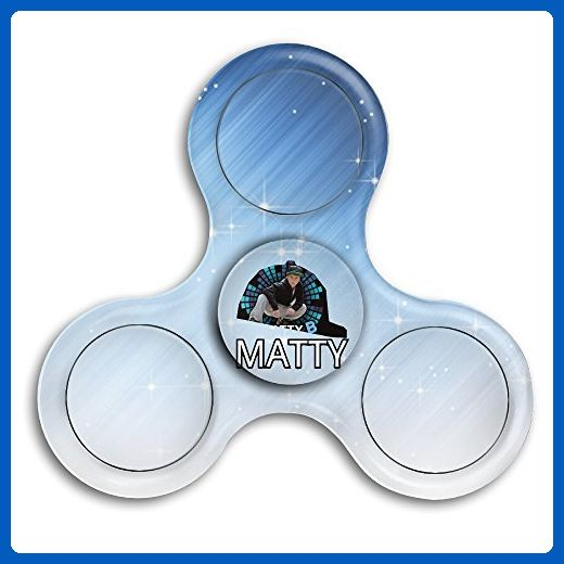 Tri Fid Spinner Cool Matty B Raps Finger Spinning Stress Reducer