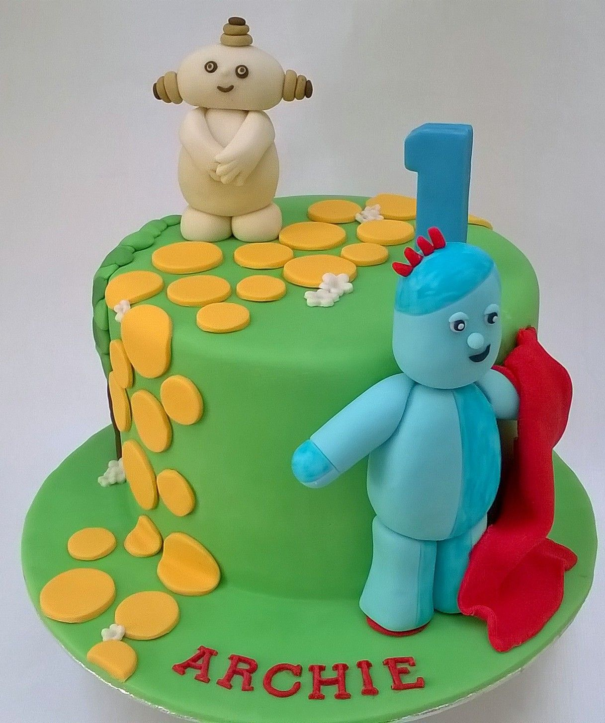 In The Night Garden cake | My cakes | Pinterest | Garden cakes ...