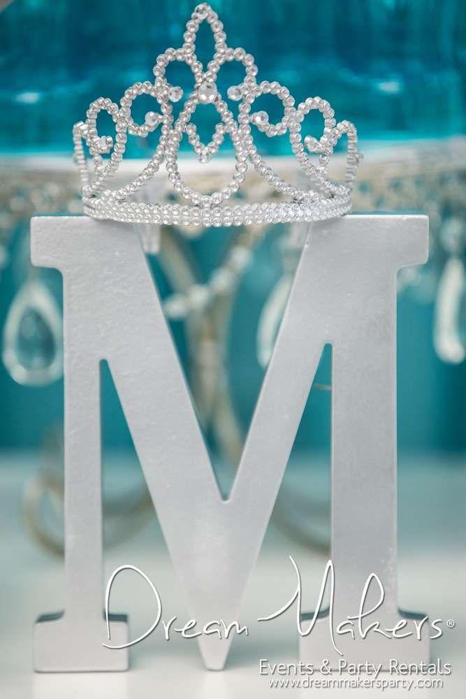 Winter Wonderland Birthday Party Ideas Crown Decoration