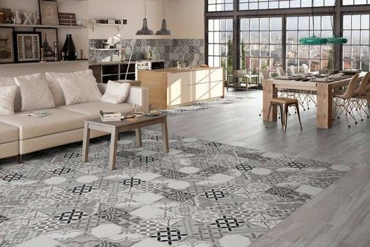 Mardi Gras Grey Wall Floor Tiles 45x45cm Flooring Home Floor Decor