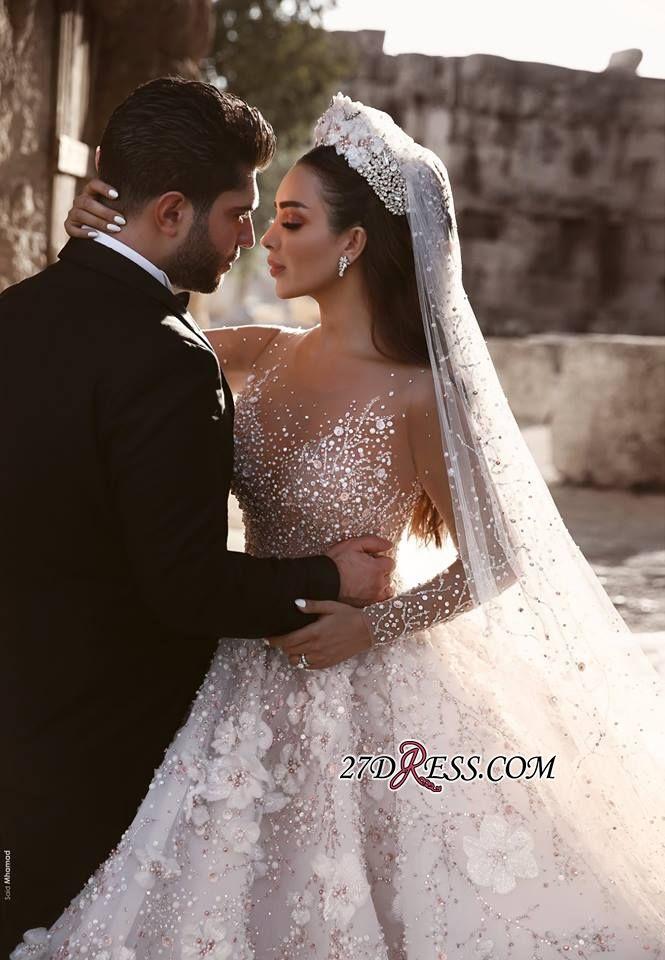 Long Sleeve 2019 Wedding Dresses
