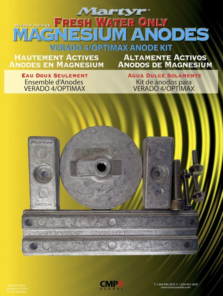 Mercury Verado 4 Cyl Magnesium Anode Kit